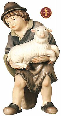 Hirtenjunge mit Schaf (Betlehem Krippe)