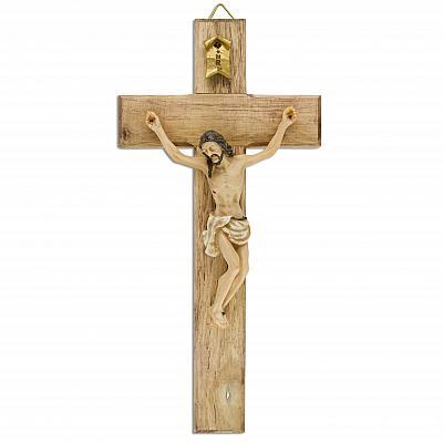 Kruzifix 'Christus der Alpen', Polyresin
