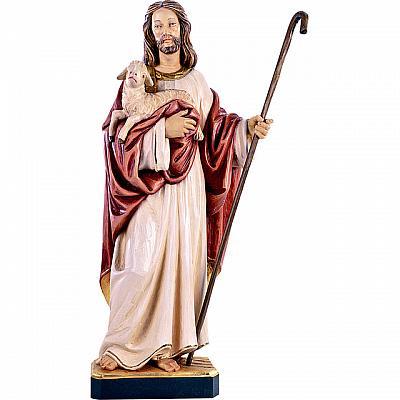 Jesus 'der gute Hirte', Holz