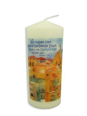 Kerze 'Jerusalem'