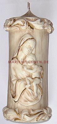 Kerze Madonna mit Kind