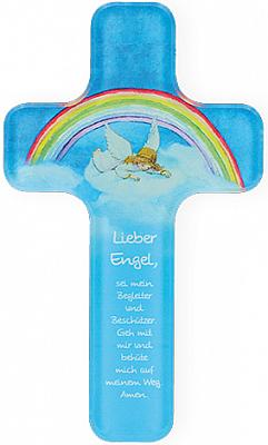 Kinderkreuz 'Lieber Engel', aus Acrylglas