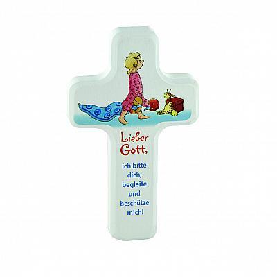 Kinderkreuz Begleite und beschütze mich