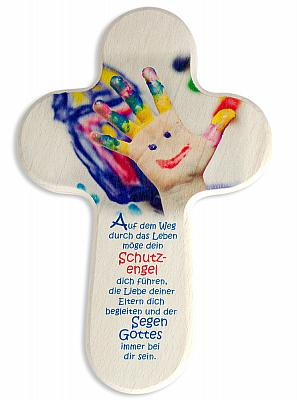 Kinderkreuz 'bunte Finger'