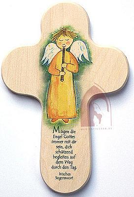 Kinderkreuz, Engel mit Flöte