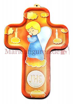 Kinderkreuz Engel und Kerzen