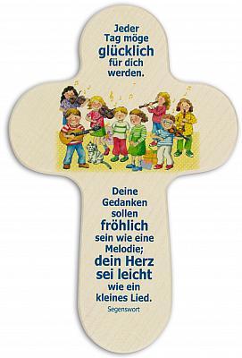 Kinderkreuz 'musizierende Kinder'