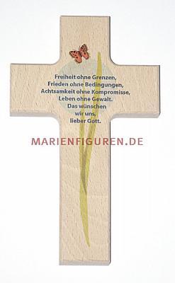 Kreuz mit Friedensgebet