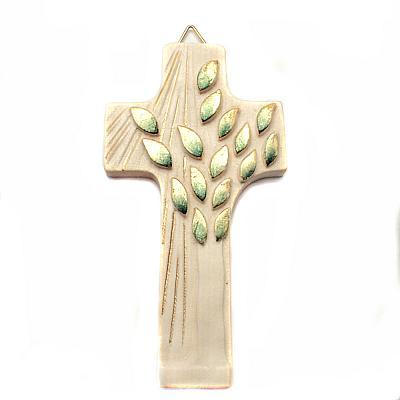 Kreuz aus Holz 'Lebensbaum' zum Jubiläum