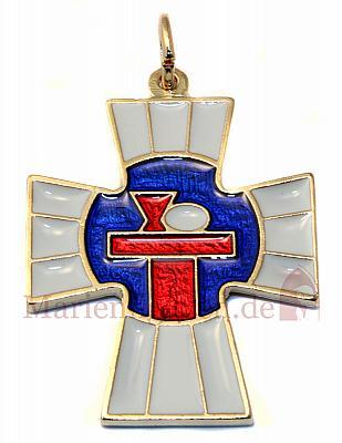 Kreuz 'Kommunion Kelch', Emaille