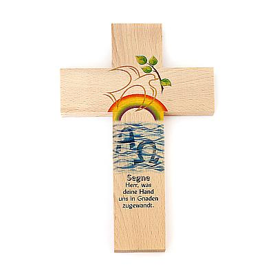 Kreuz Friedenstaube 'Anfang und Ende'