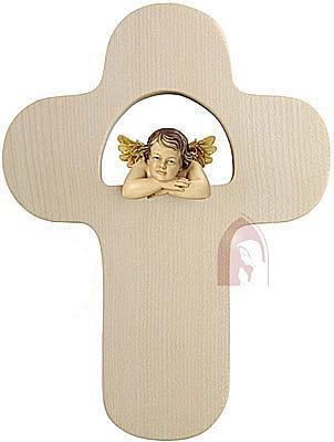 Kreuz mit Raffael-Engel