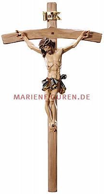 Kruzifix Alpenchristus, Holz
