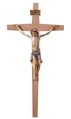 Kruzifix schlicht modern, Holz