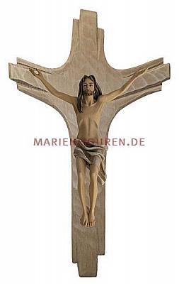 Kruzifix Strahlenkreuz, Holz