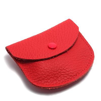 Rosenkranzetui Leder, rot