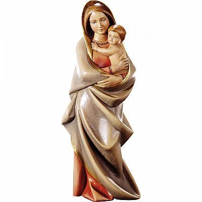 Madonna 'demütige Güte' mit Jesuskind, Holz