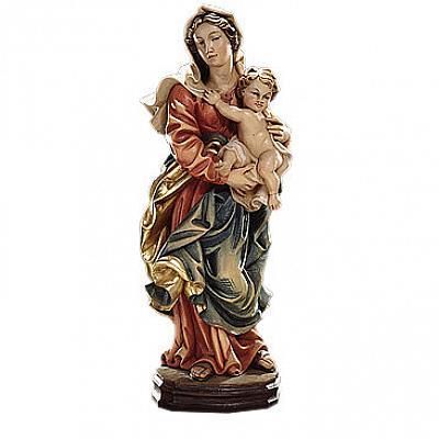 Madonna der Barmherzigkeit, Holz