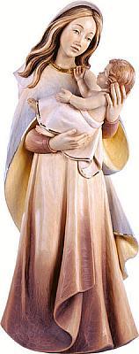 Madonna der Jugend, Holz