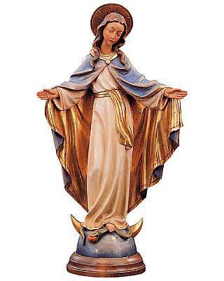 Madonna Gnadenspenderin III, Holz
