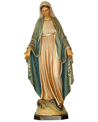 Madonna Gnadenspenderin IV, Holz