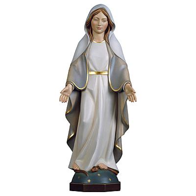 Madonna Gnadenspenderin modern, Holz