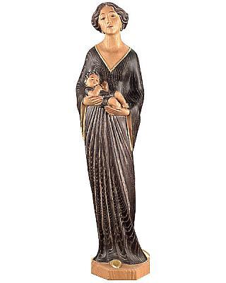 Madonna im Jugendstil, Holz