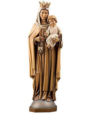 Madonna 'Jungfrau vom Berge Karmel', Holz