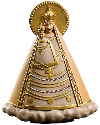 Madonna 'Magna Mater Austriae', Holz