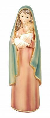 Madonna mit Jesuskind elegant, Polyresin
