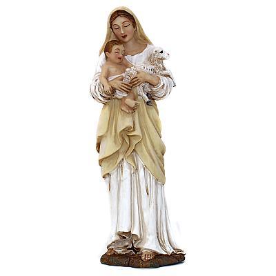 Madonna mit Jesus und Lamm