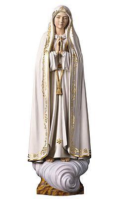 Madonna von Fatima, Holz