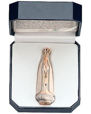 Madonna von Fatima für unterwegs im Etui
