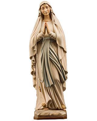 Madonna von Lourdes II, Holz