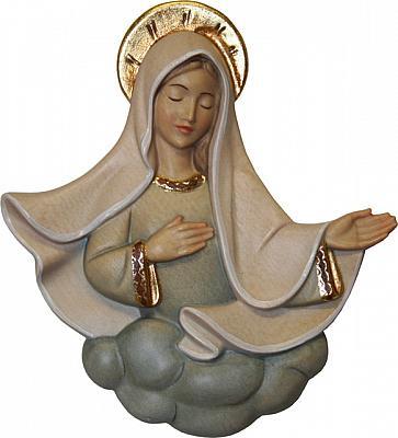 Madonnenrelief 'Himmlische Güte', Holz