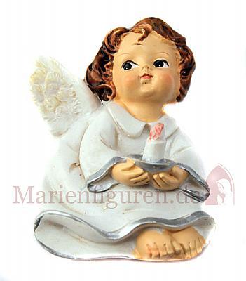 Magnetplakette Engel 'mit Kerze' (Mit Kerze)