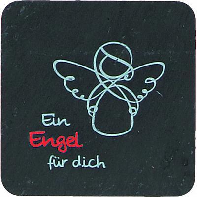 Magnetplakette Schutzengel 'Ein Engel für dich'