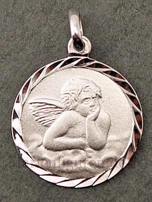 Medaille Amor, echt silber