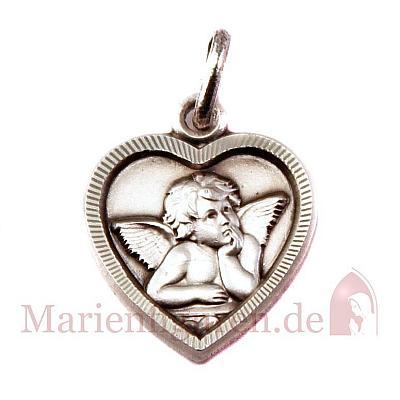 Medaille Amor Herzform