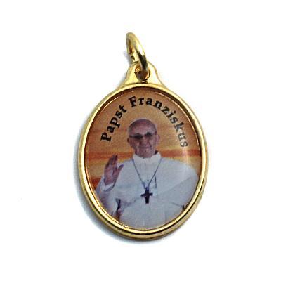Medaille 'Papst Franziskus', Anhänger