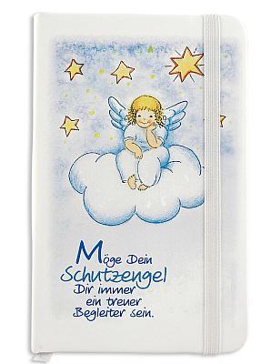 Notizbuch 'Schutzengel auf Wolke'