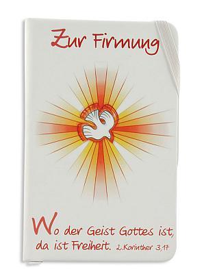 Notizbuch zur Firmung 'Wo der Geist Gottes ist...'