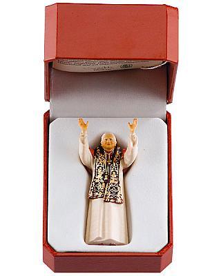 Papst Benedikt XVI für unterwegs im Etui
