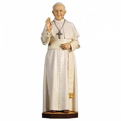 Papst Franziskus, Holz