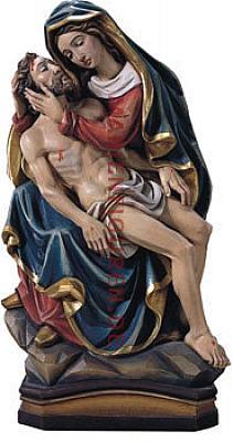 Pieta I, Holz