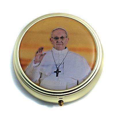 Pillendose 'Papst Franziskus'