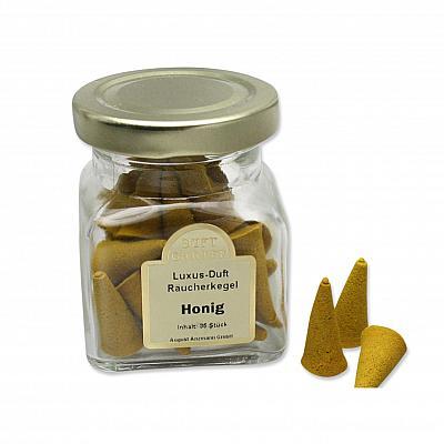 Räucherkegel Honig