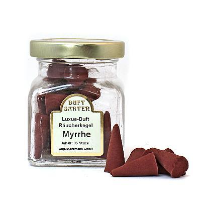 Räucherkegel Myrrhe