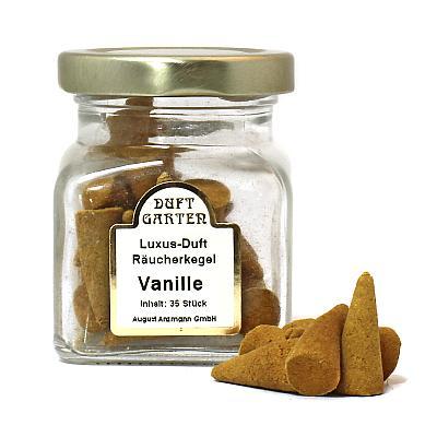 Räucherkegel Vanille