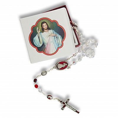 Rosenkranz 'Barmherziger Jesus', inkl. Schachtel